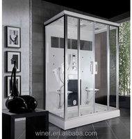 2014new design toilet sex glass door shower room