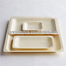 di alta qualità di stoviglie biodegradabili piastre di bambù e piatti