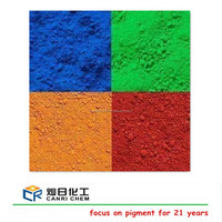 color asphalt/beton /coating inorganic and organic pigment iron oxide black/red /blue powder