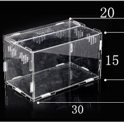 acrylic pet cage selling well all over the world,PMMA pet house bed
