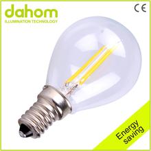 Low Price Glass 2w Led Filament Bulb Light,2w led Filament Bulb E14,360 Degree 2w Led Filament Bulb