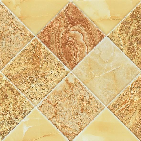 セラミックタイル張りのバスルーム壁用300x600mmアートデザイン