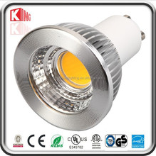 Most popular 9w gu10 rgb led spotlights AC/DC12V High quality equal to 50w 15 degree led spotlight gu10