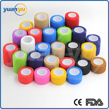 Surgical Colourful Elastic Cohesive bandage,Sport bandage And Adhesiven bandage