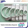 Tubular Hoop, 360 Needle Spacing, Tajima, Brother & Toyota Compatible