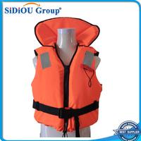 portable fabric for marine life jacket