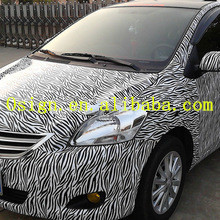 white camouflage car vinyl film