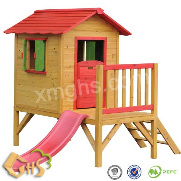 outdoor wholesale wooden kids playhouse 20001