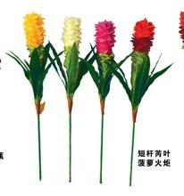 la temporada de primavera de la flor del grano patrón de tela bordada