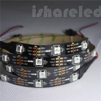 1/5m SK6812 5050 30 leds/m RGB SMD LED Flexible strip light IP20 IP65 IP67 IP68 digital color wareable strip Light 5V