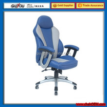 Y-2834 Blue And White High Quality Swivel Office Chair For Sale