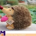 promocional personalizado erizo de peluche de felpa de juguete de los animales