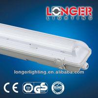 Water Proof Fixture Light Fitting IP65 BSCI ISO9000 CE TUV GS ROHS EMC 1X18W 1X36W 1X58W 1X70W