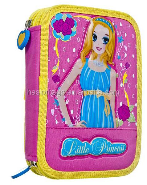 De Rolling sac de crayon / crayon élèves cas pour filles