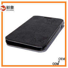 2015 single color simple wallet leather handphone back cover case for samsung galaxy grand 2 g7106