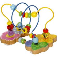 <span class=keywords><strong>Madera</strong></span> granos <span class=keywords><strong>de</strong></span> la flor juguete <span class=keywords><strong>laberinto</strong></span> juguete para niños juguetes educativos