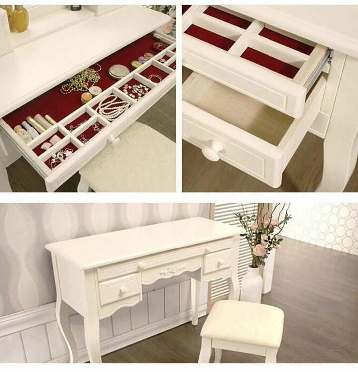 2016 모델 간단한 예쁜 디자인 메이크업 책상/화장대 의자/보석 ...