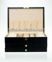 Golden Oak Matte Jewery boxes TG501OC-M
