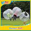 high quality funny soccer bubble, knocker ball, inflatable ball suit