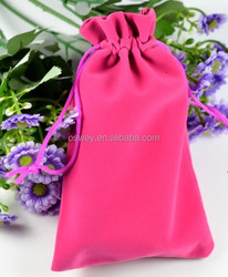 NEW Cellphone Retail Packing Drawstring Velevt Pouch Bag