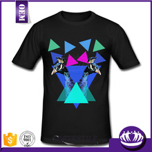 Custom High Quality blank dri fit shirts wholesale crossfit tri blend workout sport t-shirt OEM factory+custom printing logo