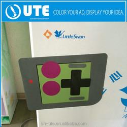 UV Full Color Printing Custom Die Cut Sticker Decal Fridge Magnet for Advertising