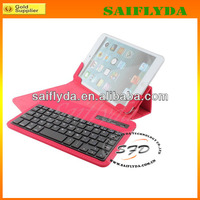 Best selling wireless bluetooth keyboard case for 7 8 inch android tablet pc