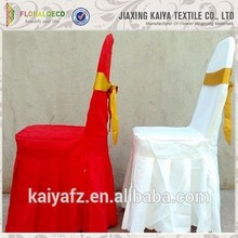 Professional supplies cheap pure color chair covers wedding decoration
