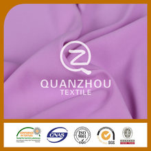 Polyester fabric supplier Shaoxing supplier pure color Formal polyester woven fabric