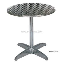 hot sale aluminum table for restaurant / hotel 2015