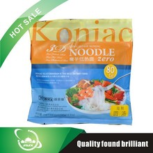 Professional intestines healthy Calcium devil's tongue noodle with CE certificate