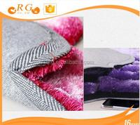 removable hairy exhibition custom antislip hotel 3d car mat