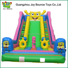 spongebob slide for sale inflatable slide 2015 new style , inflatable slide supplier in china