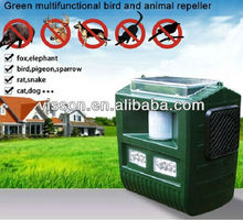 Effective garden solar ultrasonic animal repeller control bird,pigeon,bat,sparrow,rat,snake,dog,cat,elephant,fox.
