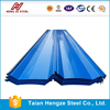DX51D hot dipped galvanized prepainted corrugated steel sheet