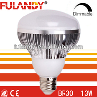 Case of 6 Greenlite Dimmable LED 10W BR30 3000K 650 Lumens Bulbs - Save Energy!
