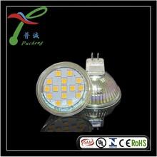 12v glass gu5.3 common room led spot light