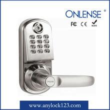 flat combination lock digital door lock