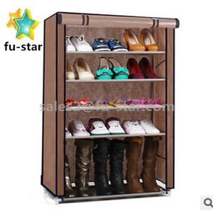 Pn дом хранение организатор портативный легко чистить ткани 6 ярусов обувной шкаф Ikea полка для обуви