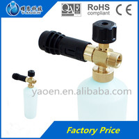 Multifunctional cleaning high pressure soap bubble water gun for car wash and garden / Plastic car wash water spray gun