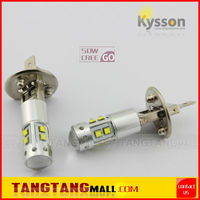 H1 H3 880 881 T10 T15 BA9S white amber yellow red blue auto car fog light bulb led fog lamp 50W cree car led lighting