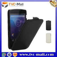 high quality leather flip case for lg nexus 4 e960