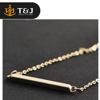 >>2015 fashion hot sale brief word short pendant necklace clavicle chain necklace//