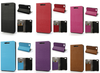 Wood Grain Leather Wallet Cover for BlackBerry Aristo Z30 A10