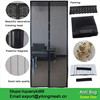 Magnetic Automatic Portable Soft Screen Door