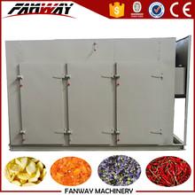 Serie CTC secador de aire caliente para las frutas y hortalizas