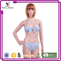 New Products Moder Stylish Neck Halter Open Sexy Xxx Hot Sex Bikini Young Girl Swimwear Photo