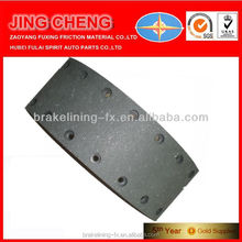 car chassis parts ceramic friction material WVA15581 for Mercedes Benz