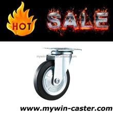 3 inch Japanese industrial caster,stainless steel core rubber caster wheel