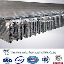 w beam hot dip galvanized highway guardrail dimensions